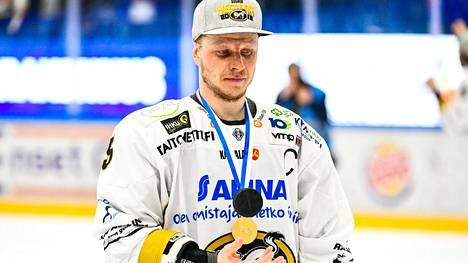 Lasse Kukkonen menetti kapteeniutensa Kärpissä