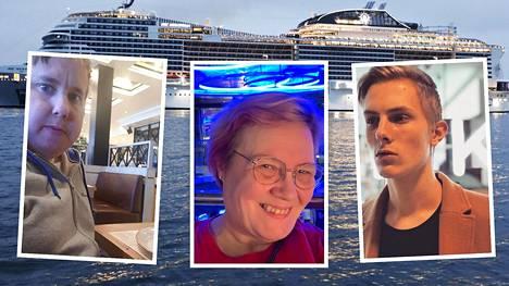 """Kolme himoristeilijää paljastaa parhaat vinkkinsä – tuttu laivasuosikki on Marjalle ehdoton ei: """"Se on amatööreille"""""""