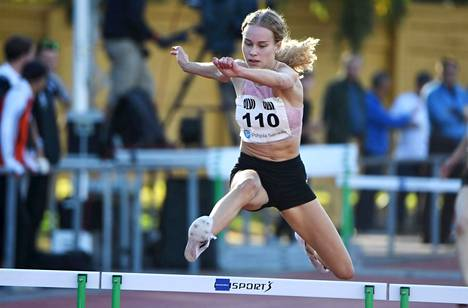 Heidi Salminen kiirehti ennätyksensä Nairobissa aivan uudelle tasolle.
