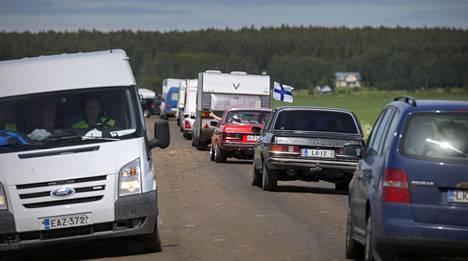 Tällainen oli Suviseurojen liikenne 2015.