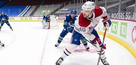 Joel Armia mätti Vancouveria vastaan tehot 2+2. Tehokas ilta sai kuitenkin ikävän päätöksen.