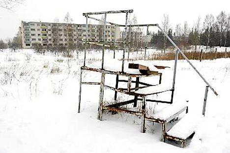 Aavekaupungiksi rapistunut Skrunda-1 on perustettu 1970-luvulla tutkatukikohdaksi.