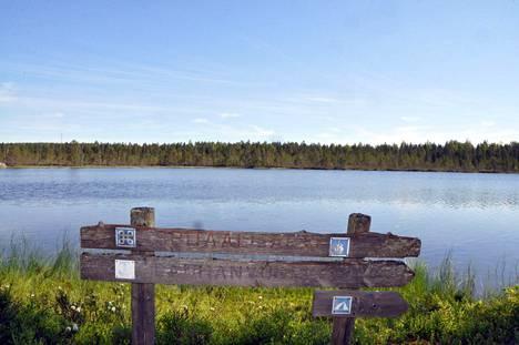 Isojoki. Spitaalijärvi.