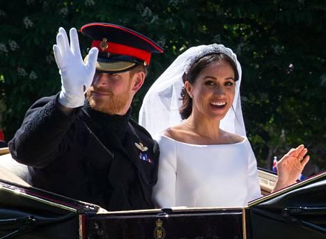 Prinssi Harry ja Meghan avioituivat toukokuussa. Pari sai häiden jälkeen arvonimen Sussexin herttuapari.