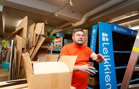 Janne Kataja haluaa rakentaa lelukaupasta paitsi elämyksen myös nähtävyyden.