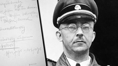 Vastalöydetyt Heinrich Himmlerin päiväkirjat avaavat natsijohtajan arkea. Himmlerillä oli tapana pitää päiväkirjaa ja tehdä muistiinpanoja esimerkiksi pitämistään puheista.