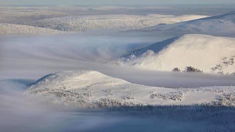 Pallas-Yllästunturin kansallispuistoon tehtiin vuonna 2018 yli 550 000 käyntiä.