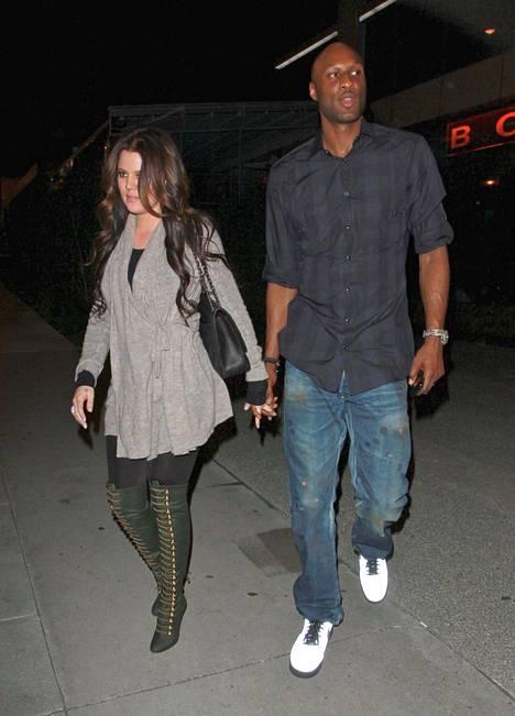 Kardashianin ja Odomin kerrotaan olevan edelleen hyvissä väleissä ja kaksikko kuvattiinkin käsi kädessä hiljattain.