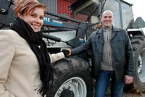 Susanna Varonen ja Sika-Harri tulivat tutuksi hollantilaisille.