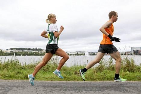Juokseminen maistui Alisa Vainiolle Jyväskylässä keskeyttämisestä huolimatta.