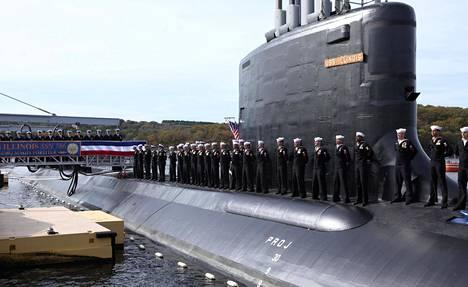 Uudet sukellusveneet ovat suurempia kuin tämä, vuonna 2016 käyttöön otettu Virginia-luokan sukellusvene USS Illinois.