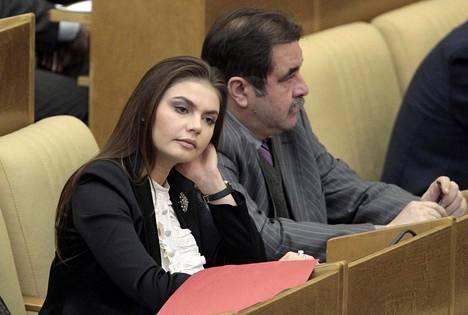 Alina Kabajeva on ollut Putinin Yhtenäinen Venäjä -puolueen kansanedustajana Duumassa vuodesta 2007 lähtien.