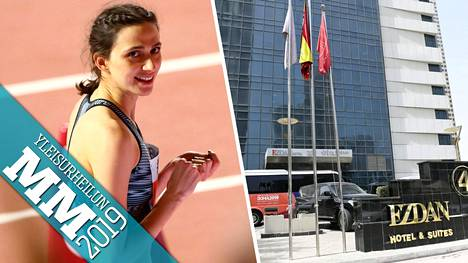 Korkeushypyn valtijatar Maria Lasitskene otti maanantaina uransa kolmannen MM-kullan. Valmistautuminen kisoihin ei mennyt täydellisesti, sillä hän ei ollut tyytyväinen hotelliinsa Dohassa.