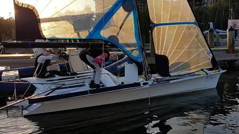 Ruskola ja Wulff purjehtivat mitalilähtöön debyytissään