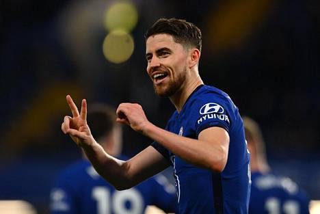 Jorginho teki rankkaripilkulta Chelsean voittomaalin.