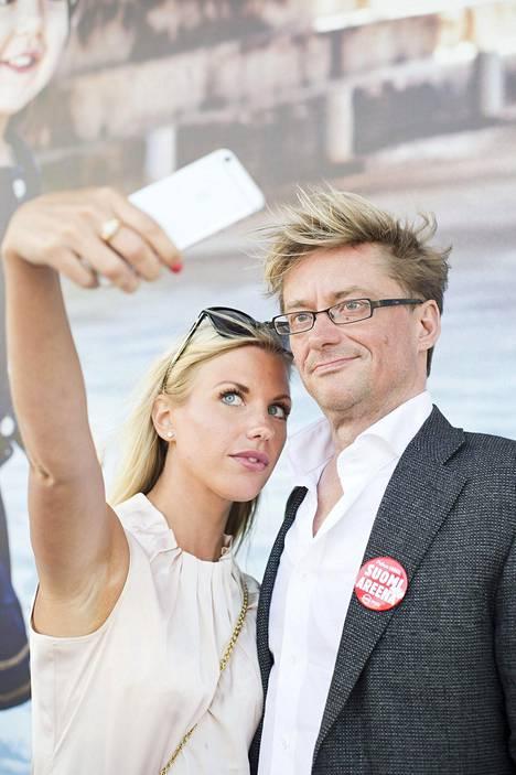 Mikael ja Emilia nauttivat Pori Jazzeista yhdessä Emilian kotikaupungissa viime kesänä.