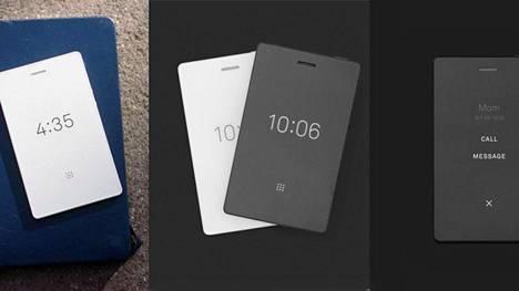 Light Phone 2:ssa on sähköisistä kirjoista tuttu e-ink-näyttö.