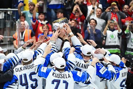 Suomi puolustaa keväällä 2019 voittamaansa maailmanmestaruutta keväällä Minskissä – tai missä kisat nyt sitten pelataankaan.