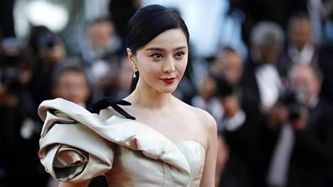 Fan Bingbing kuvattiin Cannesin elokuvajuhlilla 11. toukokuuta 2018.