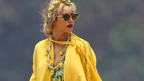 Beyoncé lomamatkalla Lemonade-hengessä.