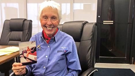 Wally Funk pääsee avaruuteen 60 vuoden odotuksen jälkeen.