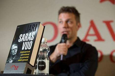 Jari Sarasvuon tuorein kirja julkaistiin vuonna 2015.