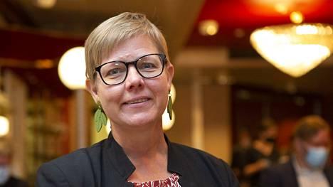 Ilmasto- ja ympäristöministeri Krista Mikkonen totesi, että vihreille kaikki aidosti ja oikeudenmukaisesti päästöjä vähentävät keinot sopivat kyllä.