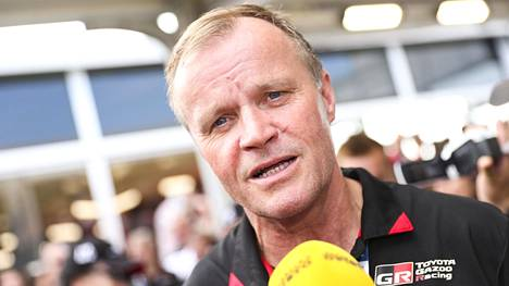 Tommi Mäkinen kertoi omasta ja johtamansa Toyota-tallinsa tilanteesta koronakriisin keskellä. Arkistokuva.