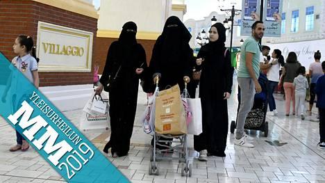 Villaggio ostoskeskus on suosittu paikka viettää aikaa Dohassa.