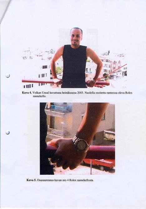 Kuvassa murhattu Volkan Unsal heinäkuussa 2003.