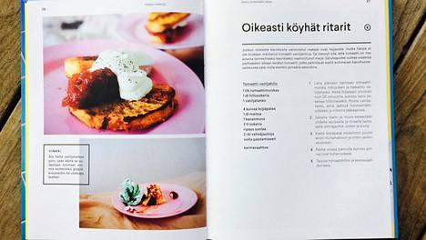 Halparuokakirja (no tofu publishing) paljastaa vinkit halpaan kokkaukseen. Oikeasti köyhien ritarien hillo tehdään tölkkitomaattimurskasta.