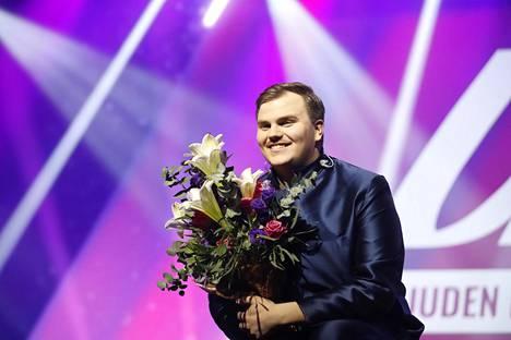 Aksel Kankaanranta valittiin Suomen euroviisuedustajaksi.