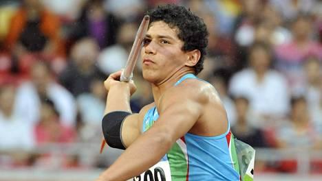 Shokirjonov kuvattuna Pekingin olympiakisojen karsinnoissa 2008.