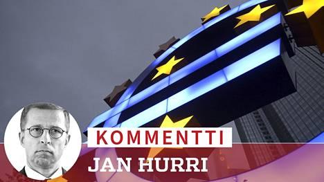 EKP on alouspolitiikan tarpeista eri linjoilla kuin Suomen Pankki.