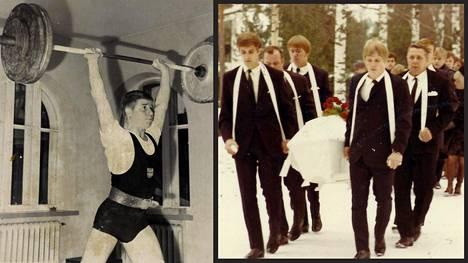 Painonnostaja Ari Kurkon elämä päättyi epäselvän nahistelun jälkeen päätteeksi Kotkassa syksyllä 1970.