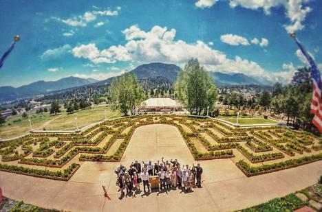 Hotelliin rakennettiin samanlainen labyrintti kuin elokuvassa on.