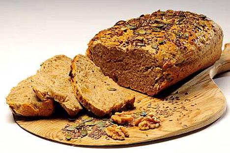 Leipää pitäisi syödä päivittäin 6-9 viipaletta.