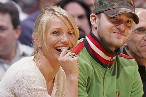 Entiset kyyhkyläiset Cameron Diaz ja Justin Timberlake ovat liikkuneet jälleen yhdessä.