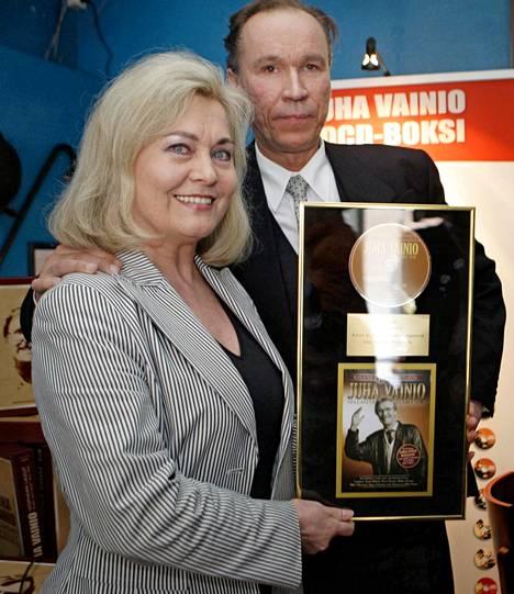 Ilkka Vainio ja Pirkko Vainio osallistuivat yhdessä Juha Vainion 70-vuotisjuhlakonserttiin vuonna 2008.