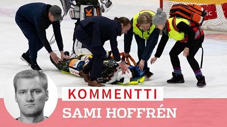 Patrik Puistolan loukkaantuminen järkytti tiistain kierroksella.