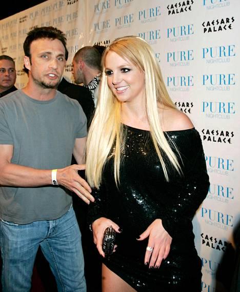 Larry Rudolph on toiminut pitkään Britneyn managerina. Kuva vuodelta 2006.