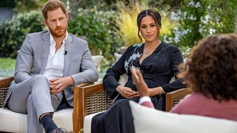 Prinssi Harry ja herttuatar Meghan antoivat paljastuksia sisältäneen haastattelun maaliskuussa Oprah Winfreylle.