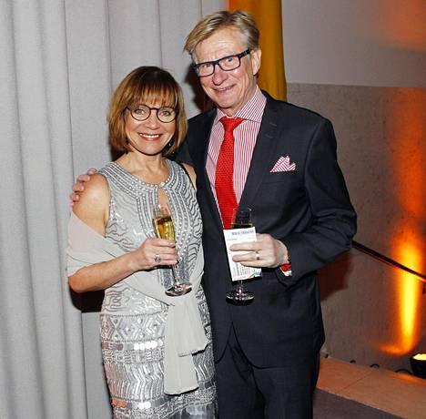2015: Lena Meriläinen ja Olli Tola on kuvattiin Helsingissä viime vuonna.