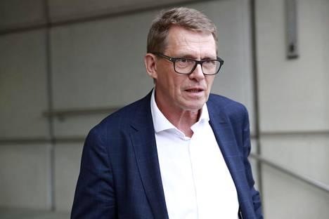 Valtiovarainministeri Matti Vanhanen (kesk).