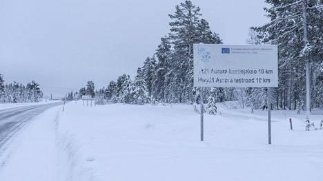 Aurora-älytie kulkee kymmenen kilometrin matkan Pahtosesta Muonion pohjoispuolelle.