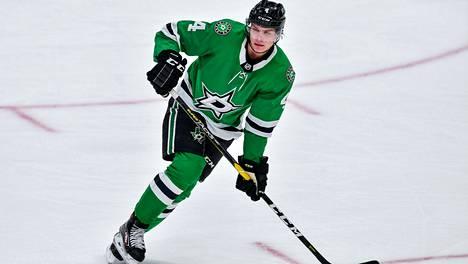 Miro Heiskanen on ehtinyt Edmontonissa katsomaan jo muiden joukkueiden pelejä.