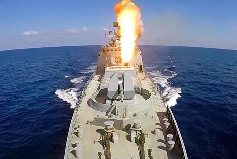 Uuden ohjuksen uskotaan pohjautuvan laivoilta laukaistavaan Kalibr-risteilyohjukseen, joita Venäjä ampui Syyriaan kesäkuussa 2017.