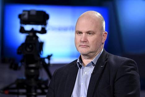 Ylen uutisoiminnan vastaava päätoimittaja Jouko Jokinen.