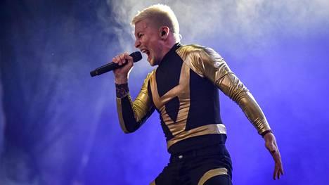 Antti Tuisku Provinssi-festivaalilla Seinäjoella 1. heinäkuuta 2018.