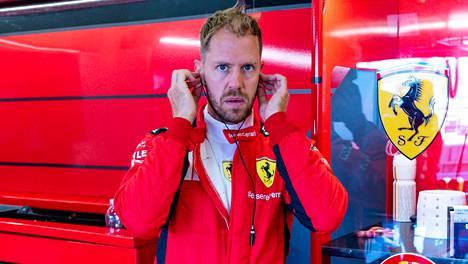 Sebastian Vettel ei ehkä enää aja kuin yhden tai kaksi kisaa Ferrarilla.